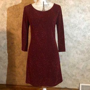 👗 Trixxi* Open-Back Sparkle Dress